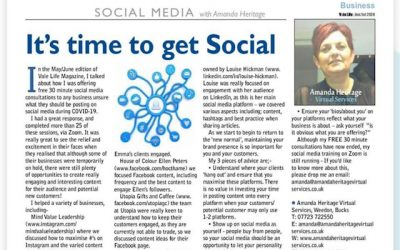 It's Time To Get Social